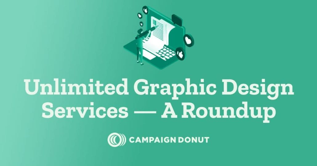 Unlimited Graphic Design Services — A Roundup Social Sharing Image