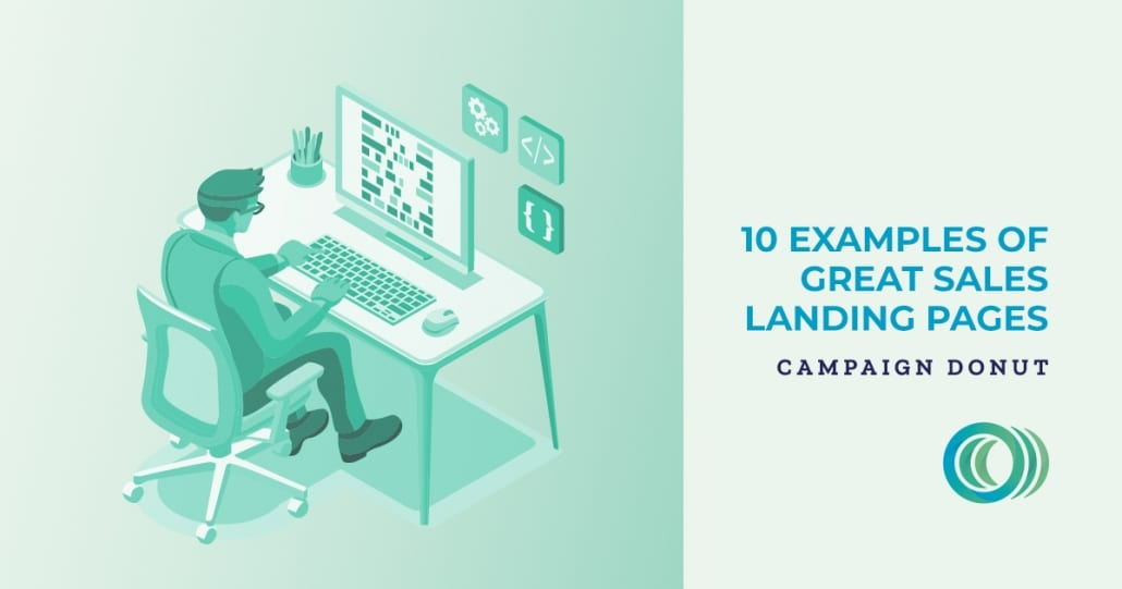 10 Examples of Great Sales Landing Pages Social Sharing Image