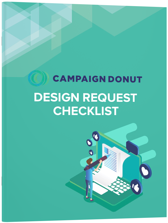 Ebook Cover — Campaign Donut Design Request Checkilst