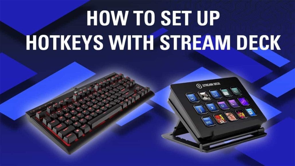 Elgato Gaming YouTube Thumbnail — How to Setup Hotkeys with Stream Deck
