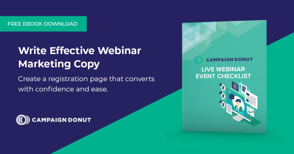 Write effective webinar copy — featured image