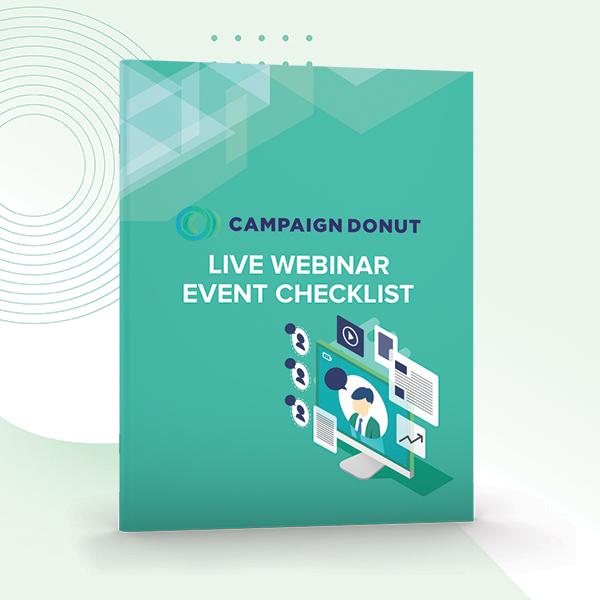 Ebook Mockup — Live Webinar Event Checklist
