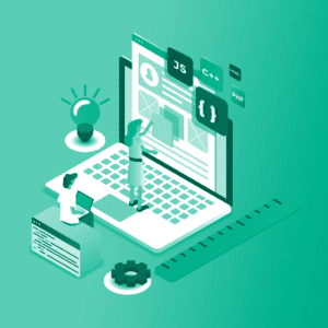 Web Utility Illustration — Custom Short URL Featured Image